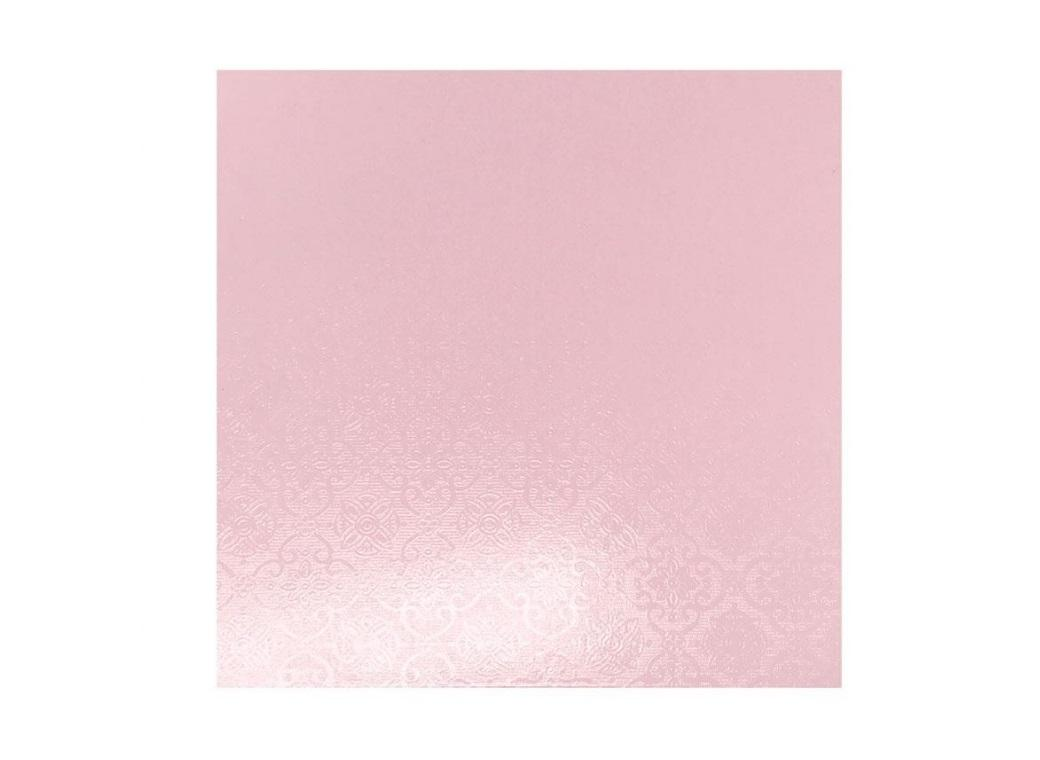 Pink Masonite Cake Board Square - 12""