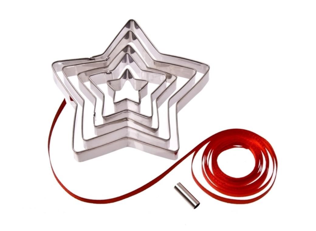 Star Cookie Cutters 5pce