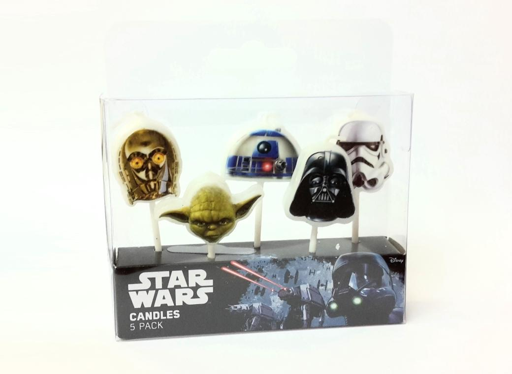 Star Wars Party Candles