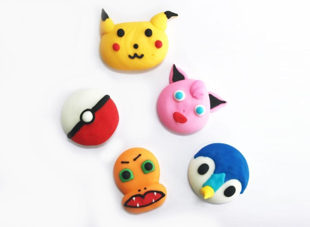Sugar Icing Decorations 6pk - Pokemon
