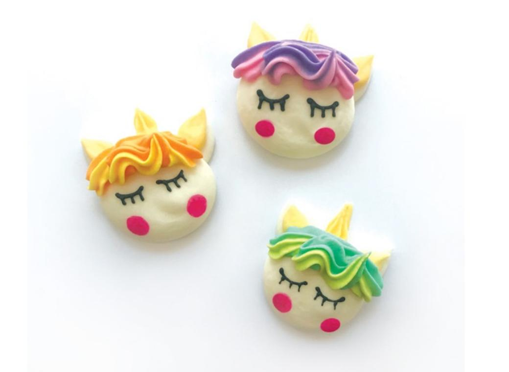 Sugar Icing Decorations 6pk - Unicorns