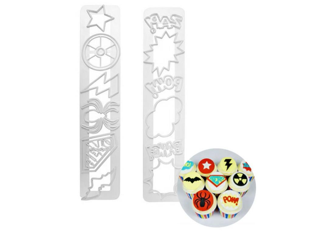 Impression Cutter Set - Super Hero