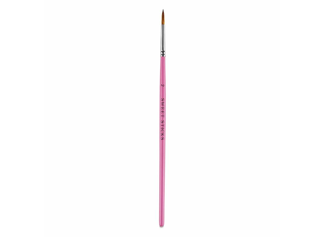 Sweet Sticks Pointed Round Brush #2