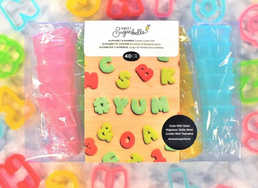 Sweet Sugarbelle Alphabet & Number Cookie Cutter Set