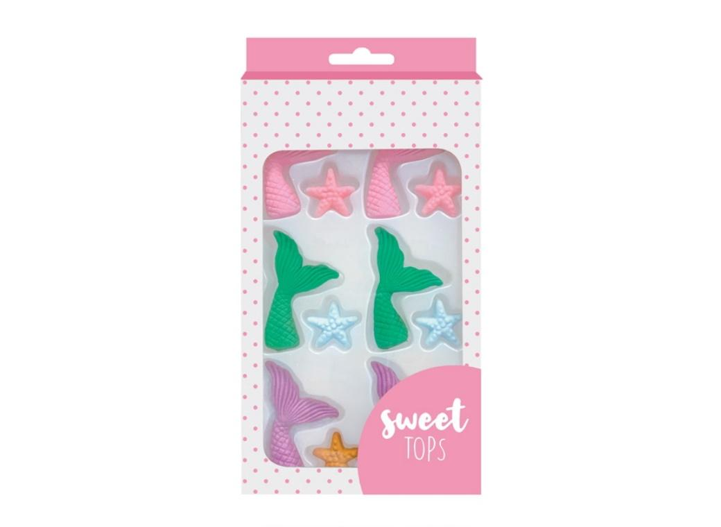 Sweet Tops Edible Decorations - Mermaid Tails & Starfish