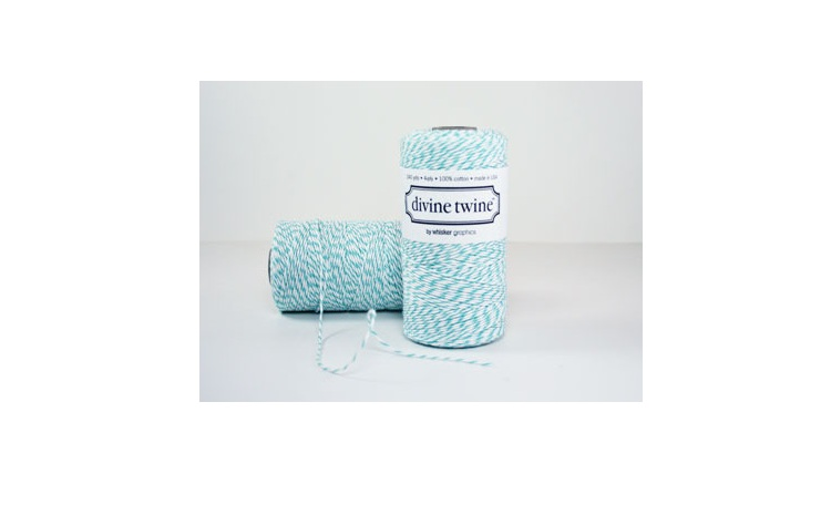 100% Cotton Bakers Twine - Teal