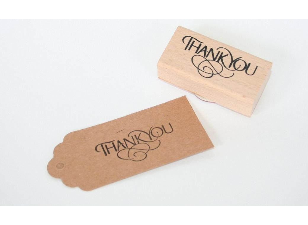 Thank You Stamp - Vintage