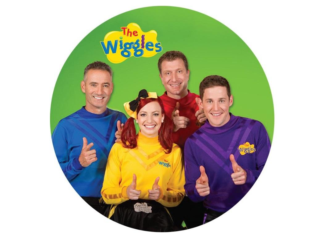 Edible Icing Image - The Wiggles Round
