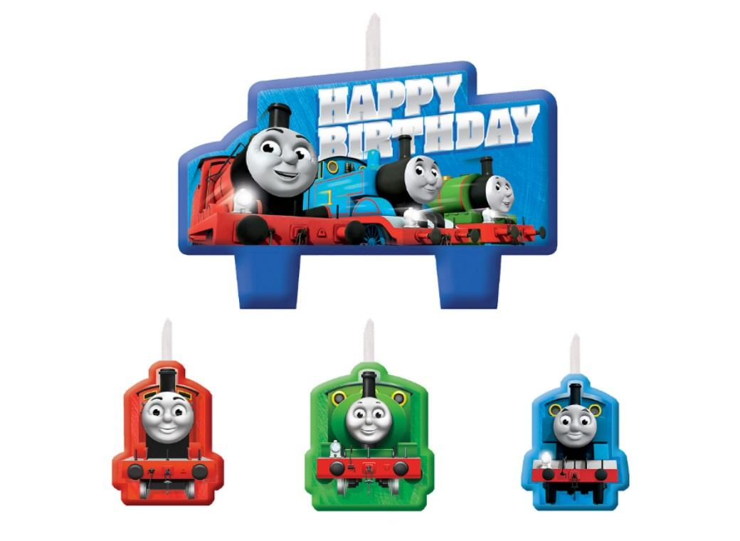 Thomas The Tank Engine Candles Set