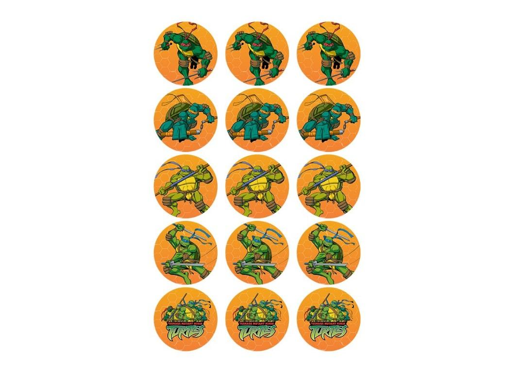 Edible Icing Cupcake Images - Teenage Mutant Ninja Turtle