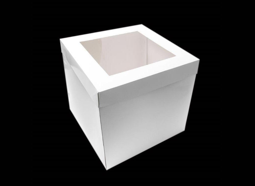 Tall Window Cake Box 10in