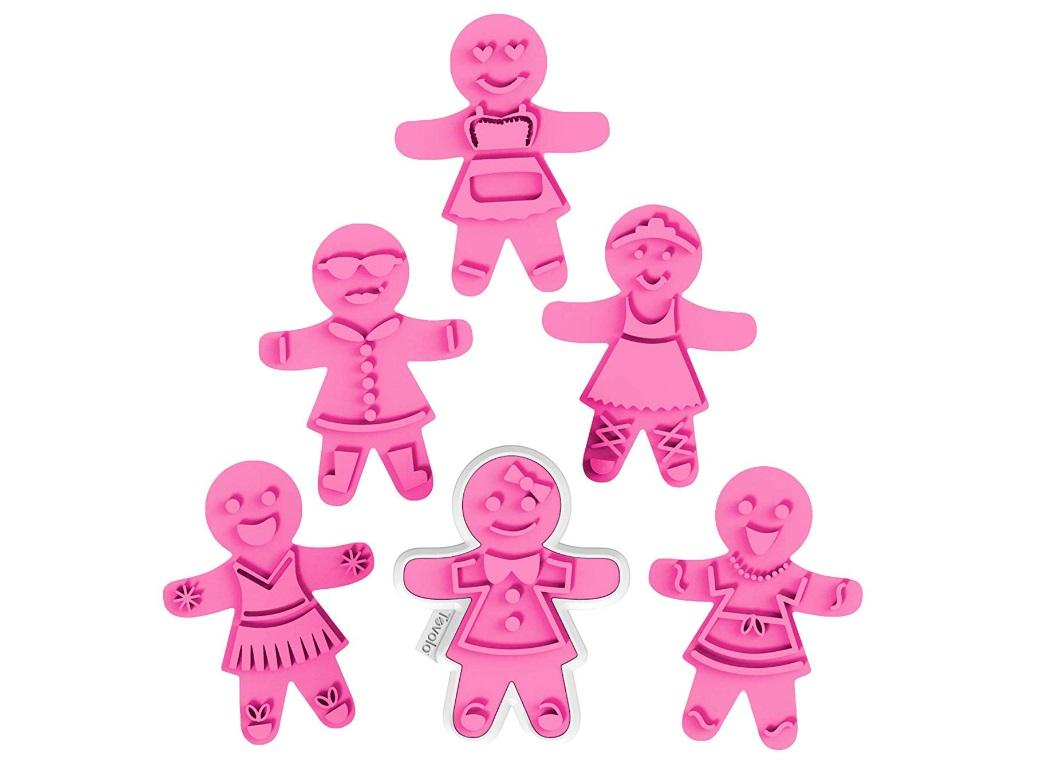 Gingerbread Girl Cookie Cutters