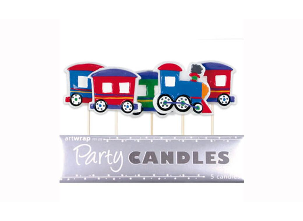 Party Candles - Trains