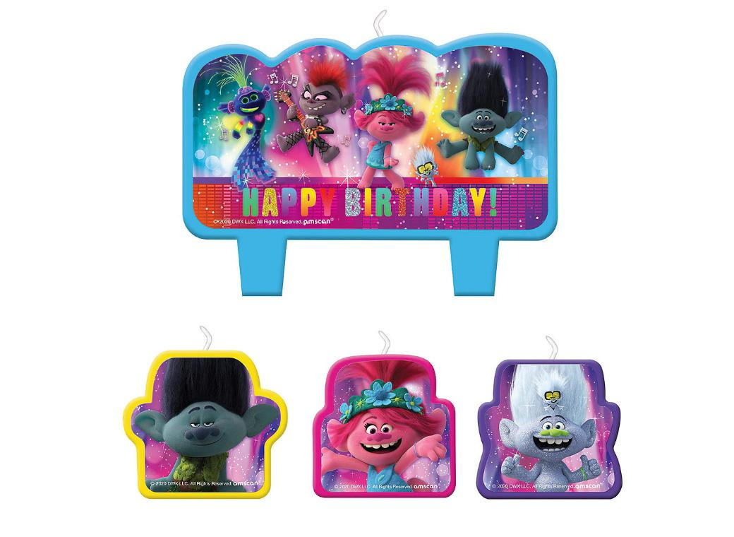 Trolls World Tour Candle Set