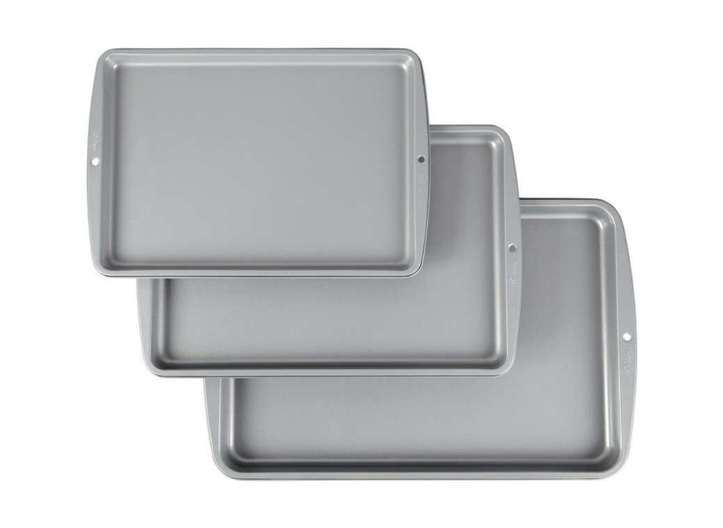 Wilton 3pc Cookie Pan Set