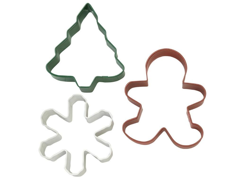 Wilton 3pce Christmas Cookie Cutter Set