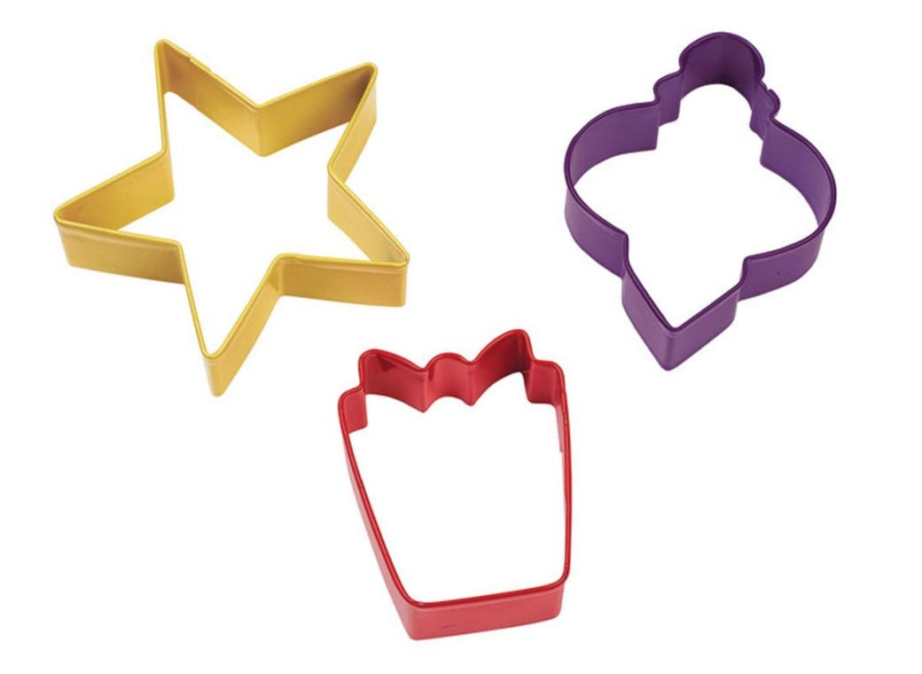 Wilton 3pce Holiday Cookie Cutter Set