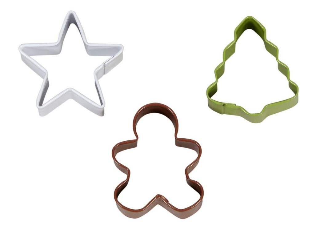 Wilton Christmas 3pce Mini Cookie Cutters Set