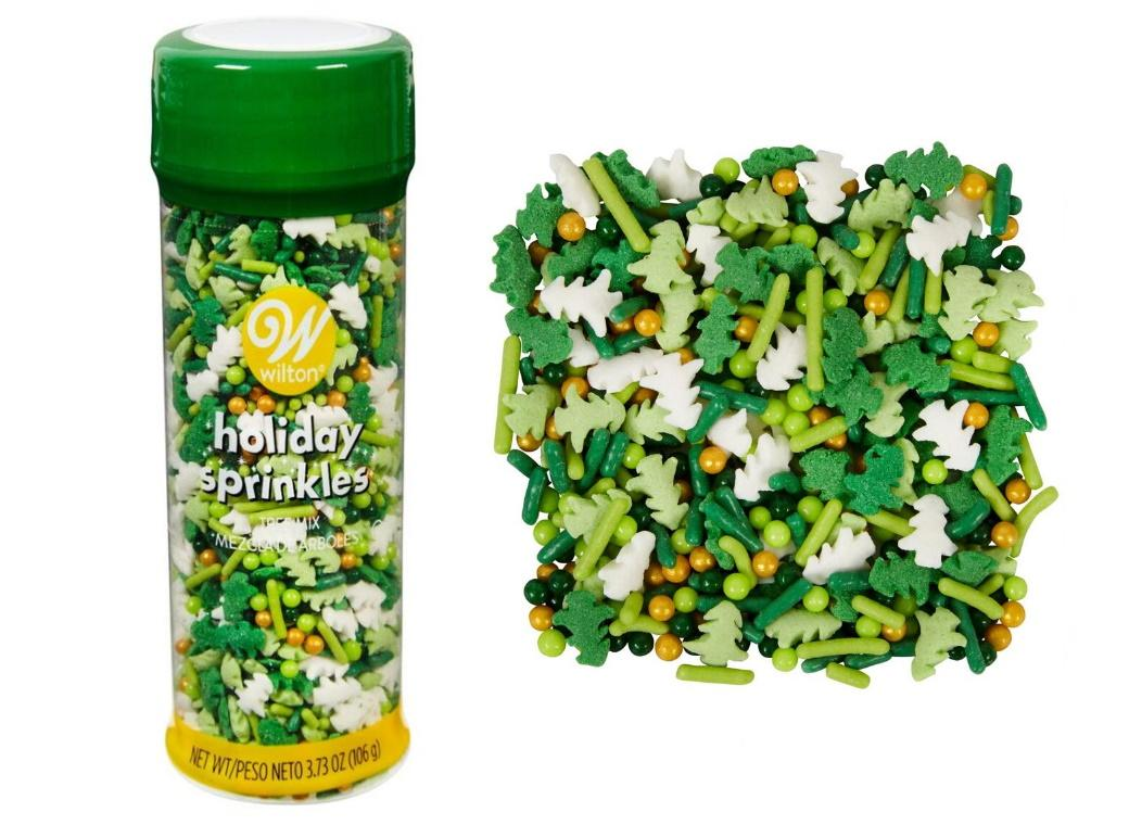 Wilton Sprinkles Christmas Tree Mix