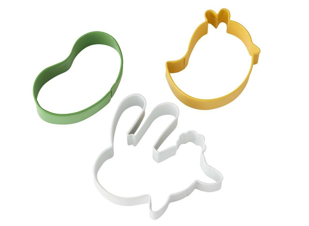 Wilton Easter Fun 3pc Cookie Cutter Set