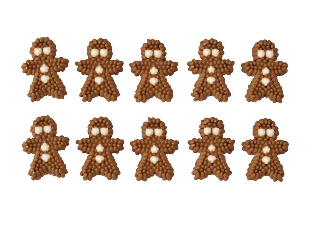 Wilton Edible Gingerbread Decorations 24pk