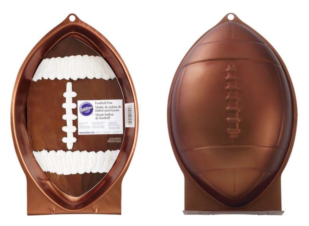 Wilton Football (Rugby Ball) Shape Pan