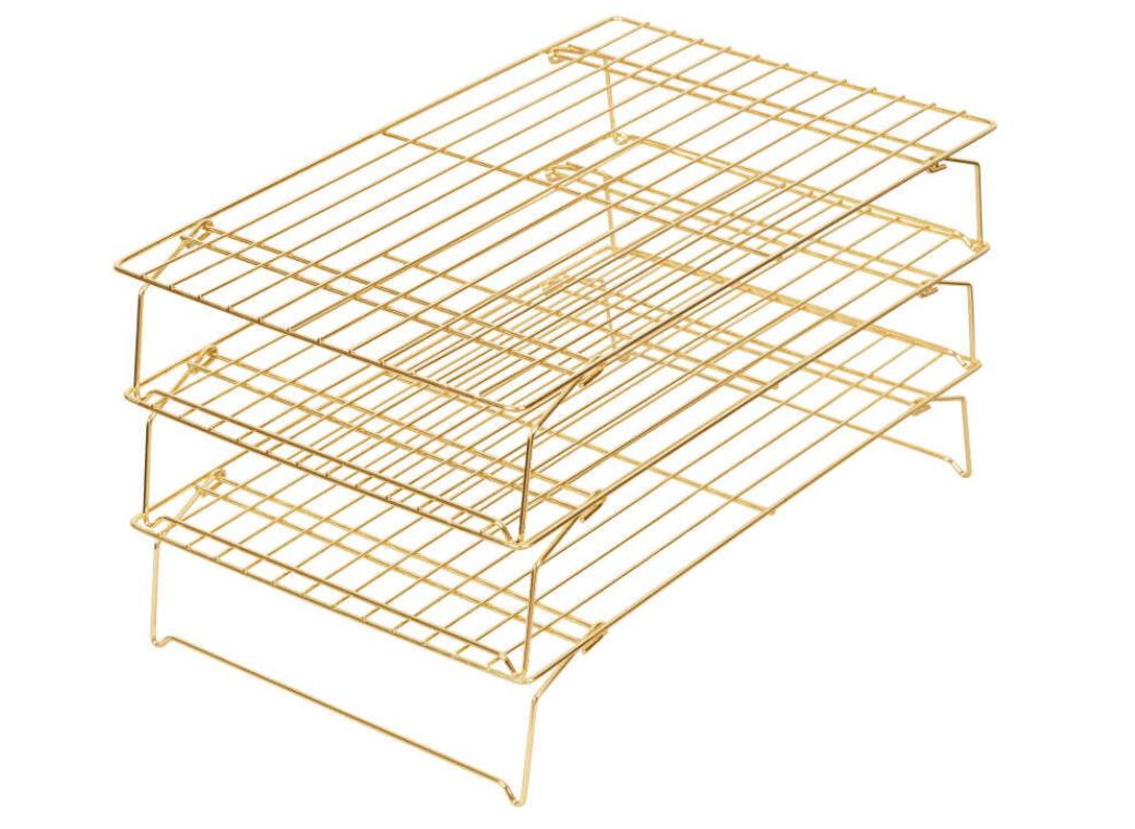 Wilton Gold 3-Tier Cooling Rack