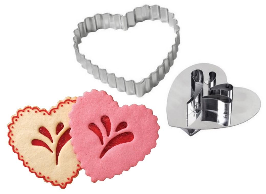 Wilton Giant Heart Linzer Cookie Cutter