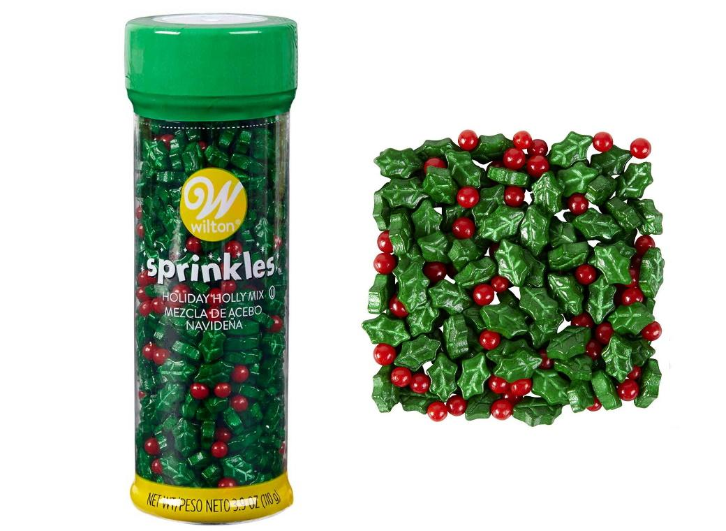 Wilton Holly Mix Sprinkles Tall