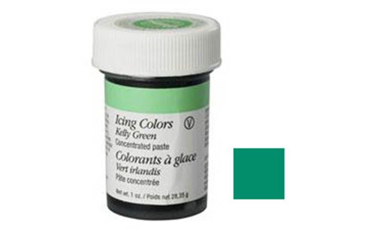 Wilton Kelly Green Icing Colour