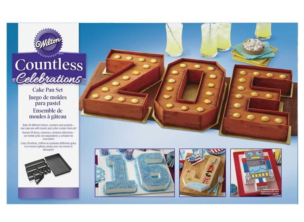 Wilton Numbers & Letters Cake Pan Set