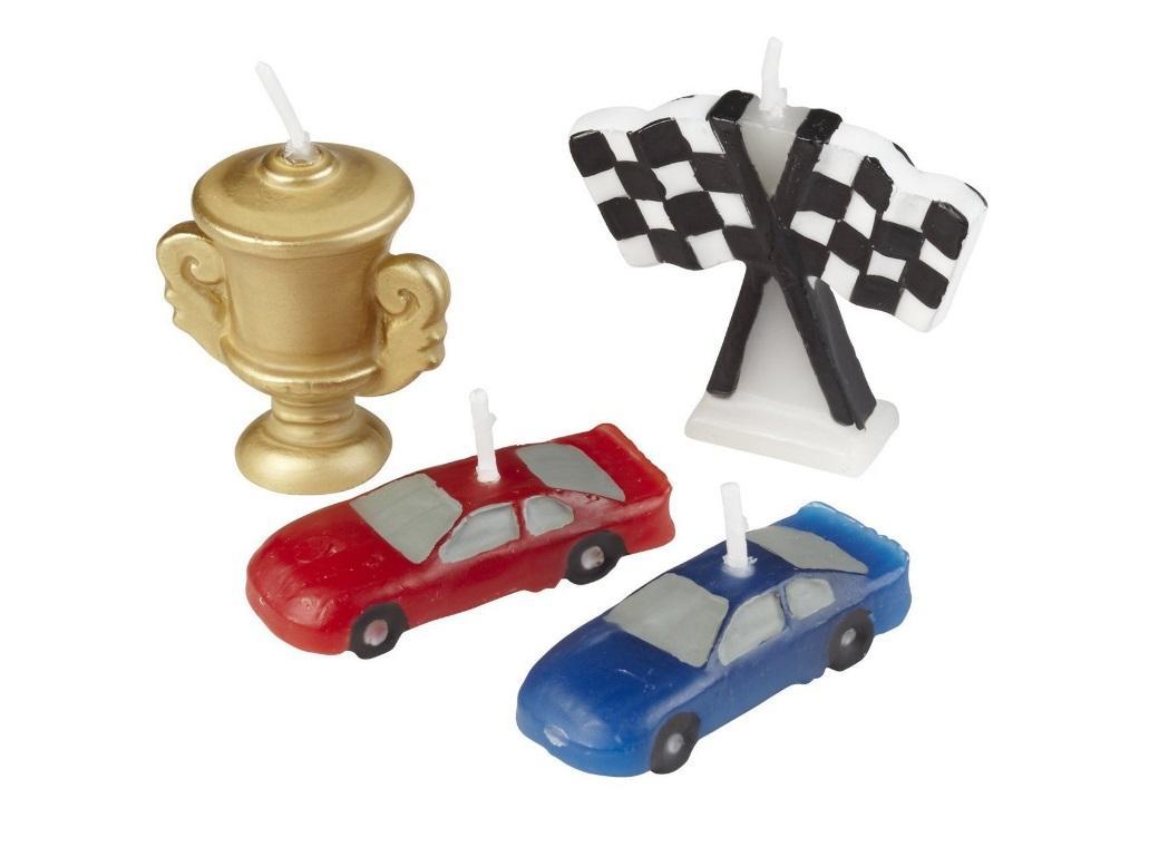 Race Car Candle Set