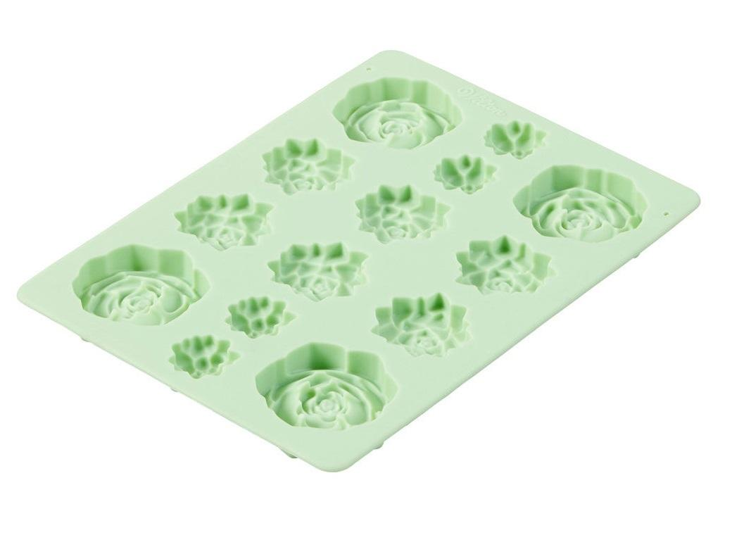 Wilton Succulents Silicone Mould
