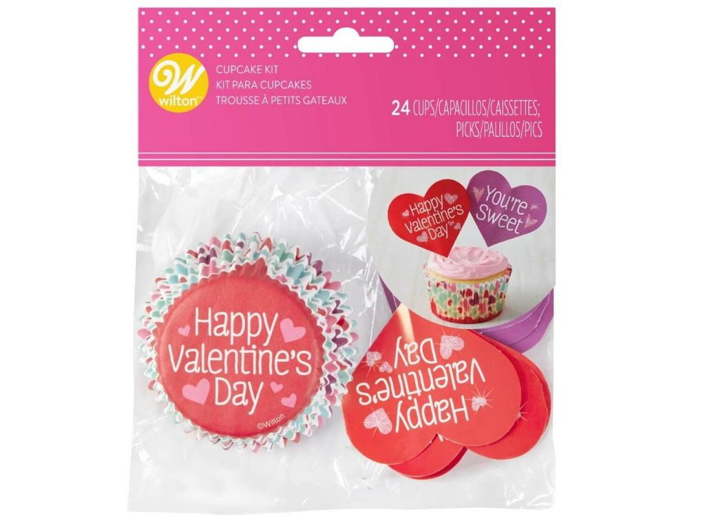 Wilton Valentine's Day Cupcake Kit 24pk
